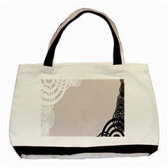 Circles Background Basic Tote Bag (two Sides)