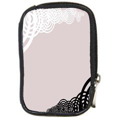 Circles Background Compact Camera Cases