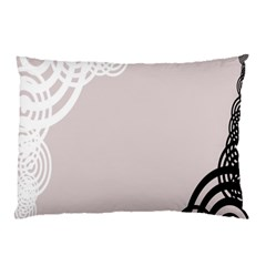 Circles Background Pillow Case (Two Sides)