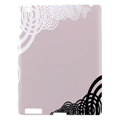 Circles Background Apple Ipad 3/4 Hardshell Case