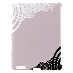Circles Background Apple Ipad 3/4 Hardshell Case (compatible With Smart Cover)