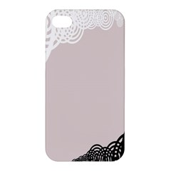 Circles Background Apple iPhone 4/4S Premium Hardshell Case