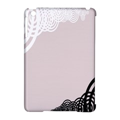 Circles Background Apple iPad Mini Hardshell Case (Compatible with Smart Cover)