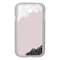 Circles Background Samsung Galaxy Grand Duos I9082 Case (white)