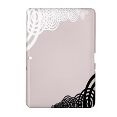 Circles Background Samsung Galaxy Tab 2 (10 1 ) P5100 Hardshell Case