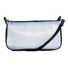Blue Stripe With Water Droplets Shoulder Clutch Bags