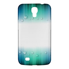 Blue Stripe With Water Droplets Samsung Galaxy Mega 6.3  I9200 Hardshell Case