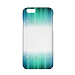 Blue Stripe With Water Droplets Apple iPhone 6/6S Hardshell Case