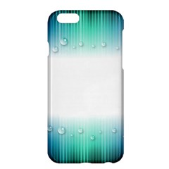 Blue Stripe With Water Droplets Apple Iphone 6 Plus/6s Plus Hardshell Case