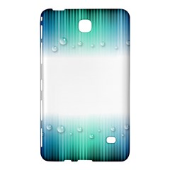 Blue Stripe With Water Droplets Samsung Galaxy Tab 4 (8 ) Hardshell Case
