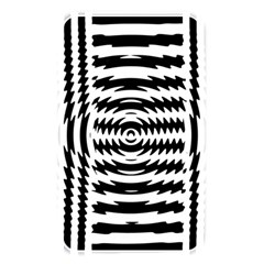 Black And White Abstract Stripped Geometric Background Memory Card Reader