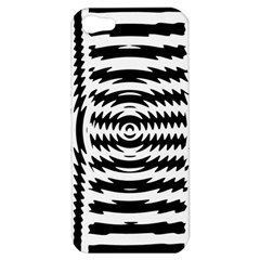 Black And White Abstract Stripped Geometric Background Apple Iphone 5 Hardshell Case