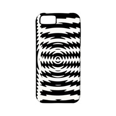 Black And White Abstract Stripped Geometric Background Apple Iphone 5 Classic Hardshell Case (pc+silicone)