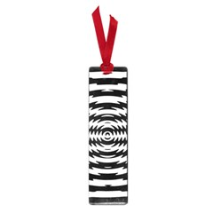 Black And White Abstract Stripped Geometric Background Small Book Marks