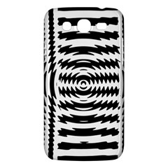 Black And White Abstract Stripped Geometric Background Samsung Galaxy Mega 5 8 I9152 Hardshell Case