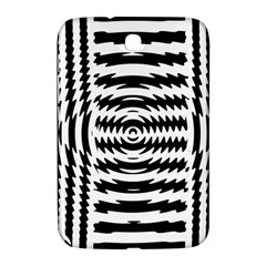 Black And White Abstract Stripped Geometric Background Samsung Galaxy Note 8 0 N5100 Hardshell Case