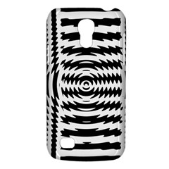 Black And White Abstract Stripped Geometric Background Galaxy S4 Mini