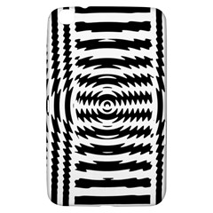 Black And White Abstract Stripped Geometric Background Samsung Galaxy Tab 3 (8 ) T3100 Hardshell Case