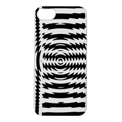 Black And White Abstract Stripped Geometric Background Apple iPhone 5S/ SE Hardshell Case