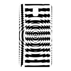 Black And White Abstract Stripped Geometric Background Samsung Galaxy Note 3 N9005 Hardshell Back Case