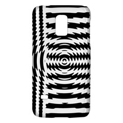 Black And White Abstract Stripped Geometric Background Galaxy S5 Mini