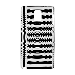Black And White Abstract Stripped Geometric Background Samsung Galaxy Note 4 Hardshell Case