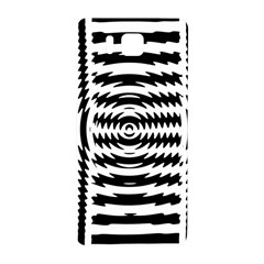 Black And White Abstract Stripped Geometric Background Samsung Galaxy Alpha Hardshell Back Case