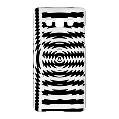 Black And White Abstract Stripped Geometric Background Samsung Galaxy A5 Hardshell Case