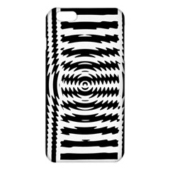 Black And White Abstract Stripped Geometric Background iPhone 6 Plus/6S Plus TPU Case