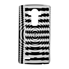 Black And White Abstract Stripped Geometric Background LG G4 Hardshell Case