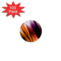 Colourful Grunge Stripe Background 1  Mini Buttons (100 pack)