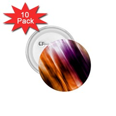 Colourful Grunge Stripe Background 1.75  Buttons (10 pack)