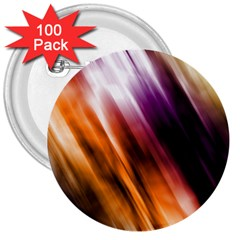 Colourful Grunge Stripe Background 3  Buttons (100 Pack)