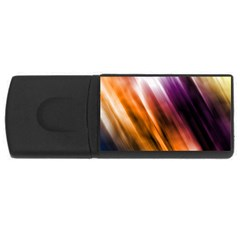 Colourful Grunge Stripe Background Usb Flash Drive Rectangular (4 Gb)
