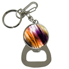 Colourful Grunge Stripe Background Button Necklaces