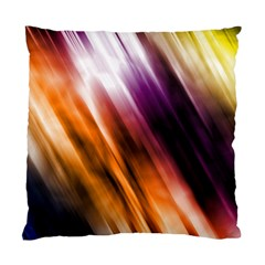 Colourful Grunge Stripe Background Standard Cushion Case (Two Sides)