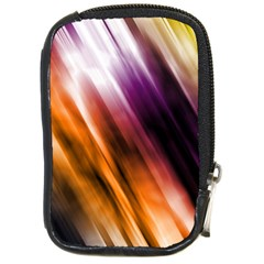 Colourful Grunge Stripe Background Compact Camera Cases