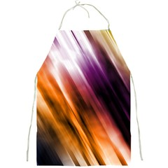 Colourful Grunge Stripe Background Full Print Aprons