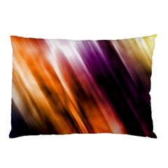 Colourful Grunge Stripe Background Pillow Case (two Sides)