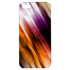 Colourful Grunge Stripe Background Apple iPhone 5 Hardshell Case