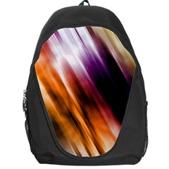 Colourful Grunge Stripe Background Backpack Bag