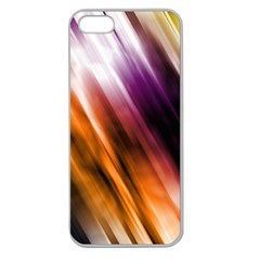Colourful Grunge Stripe Background Apple Seamless iPhone 5 Case (Clear)