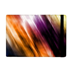 Colourful Grunge Stripe Background Apple Ipad Mini Flip Case