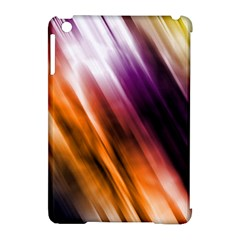 Colourful Grunge Stripe Background Apple iPad Mini Hardshell Case (Compatible with Smart Cover)