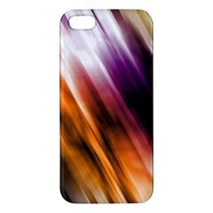 Colourful Grunge Stripe Background Apple Iphone 5 Premium Hardshell Case