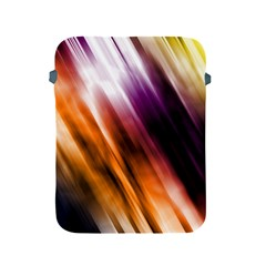 Colourful Grunge Stripe Background Apple Ipad 2/3/4 Protective Soft Cases