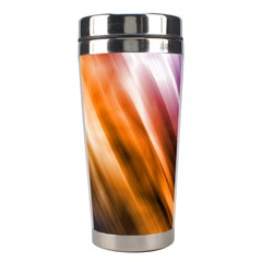 Colourful Grunge Stripe Background Stainless Steel Travel Tumblers