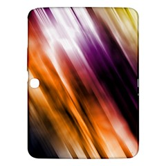 Colourful Grunge Stripe Background Samsung Galaxy Tab 3 (10 1 ) P5200 Hardshell Case