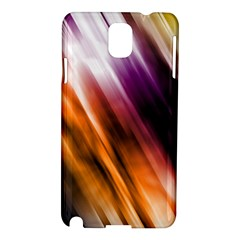 Colourful Grunge Stripe Background Samsung Galaxy Note 3 N9005 Hardshell Case