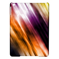 Colourful Grunge Stripe Background Ipad Air Hardshell Cases